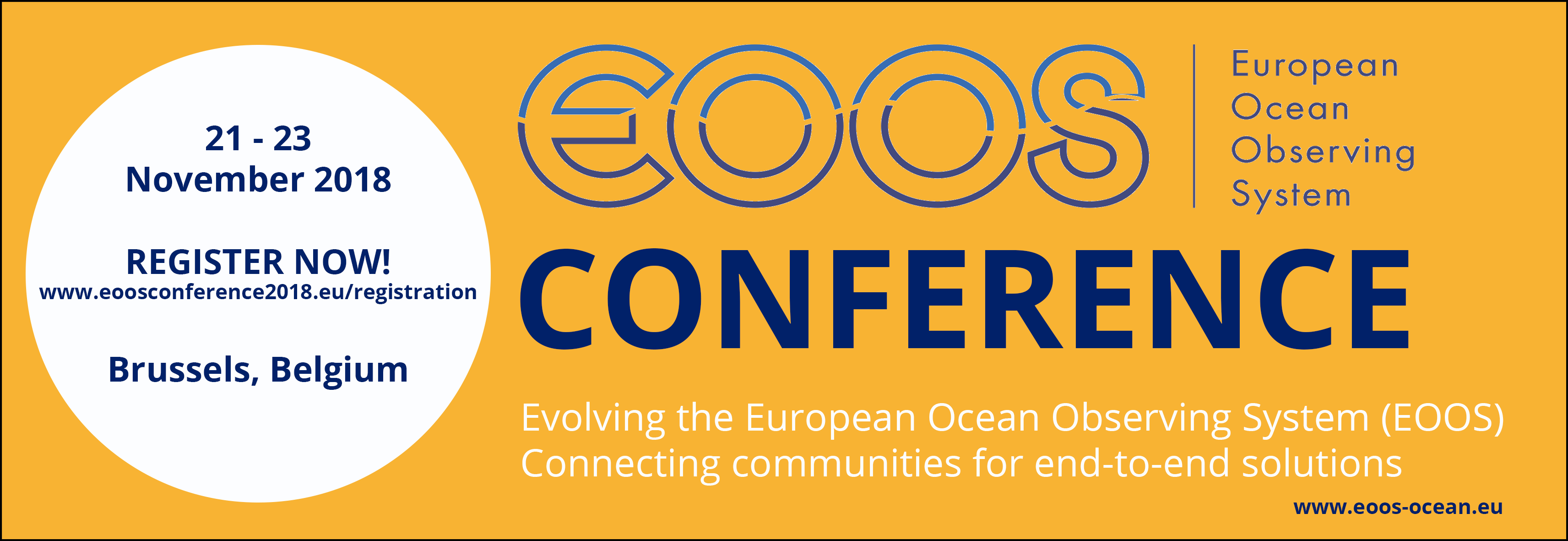 EOOS Conference Banner
