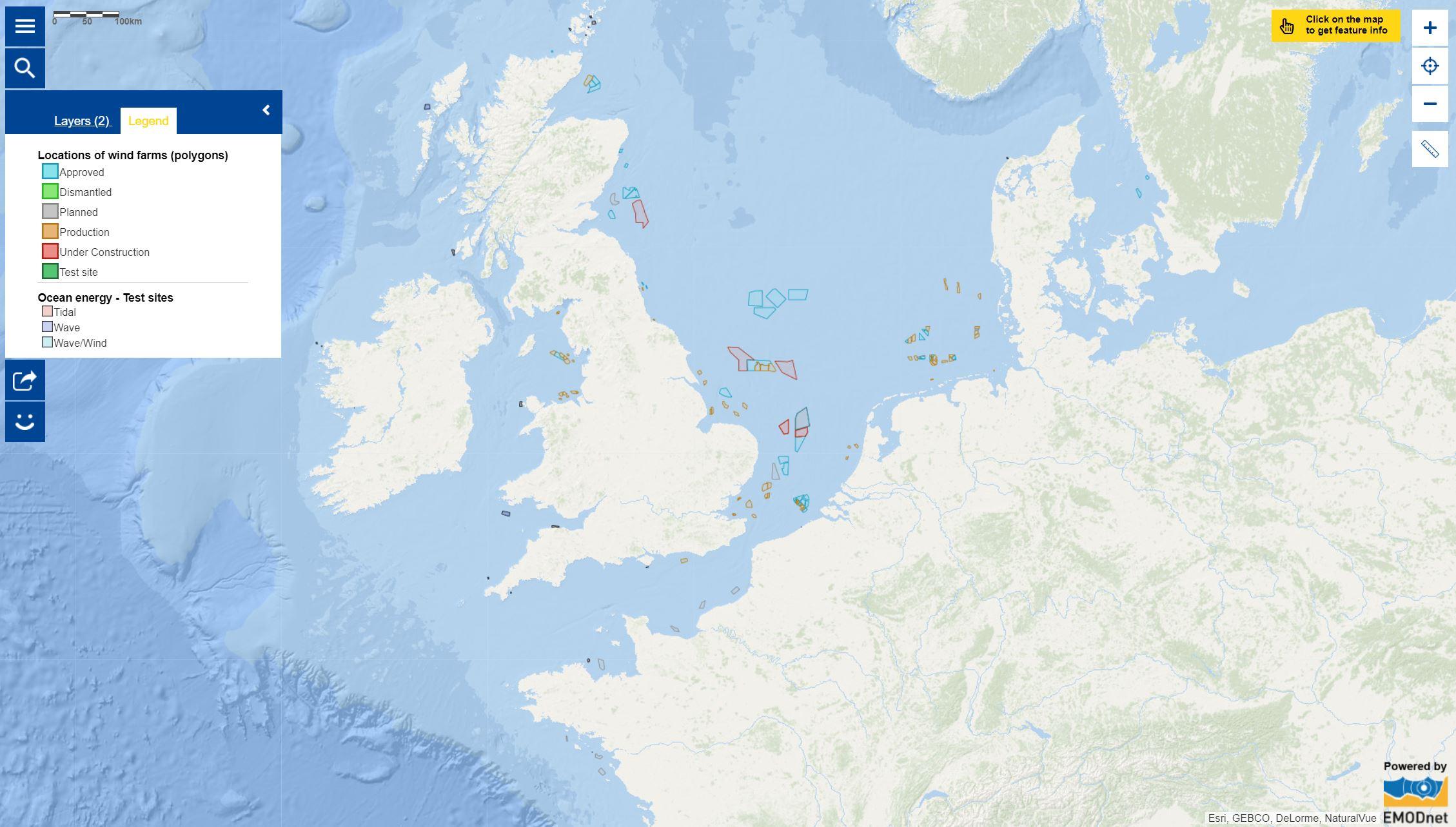 Map of the week – Blue Economy – Marine Renewable Energy