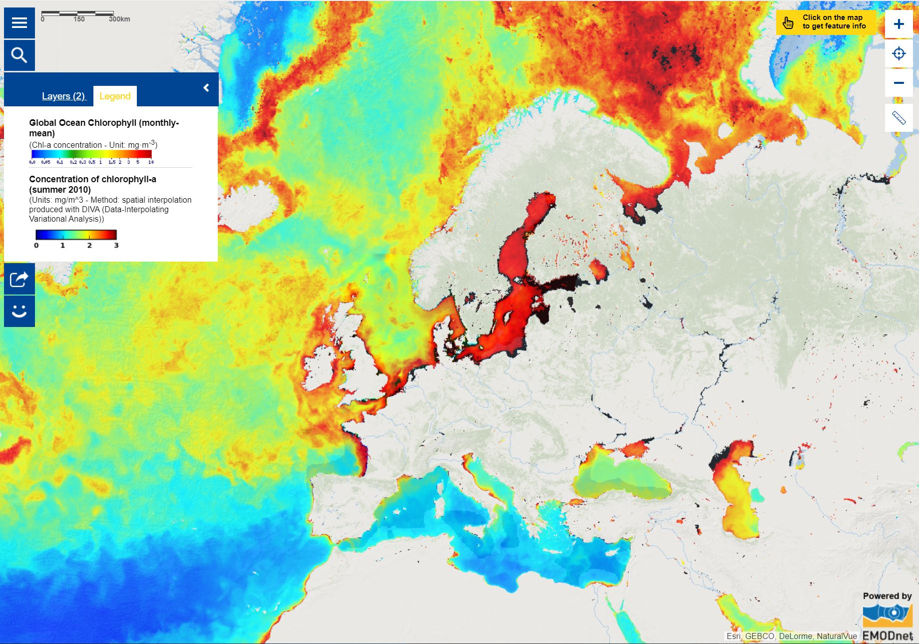 Map of the week - Satellite and In Situ Observations for Advancing Ocean Monitoring