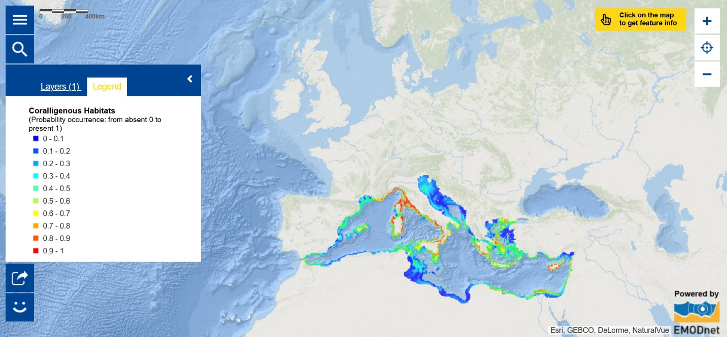 Map of the Week – Coralligenous Habitats