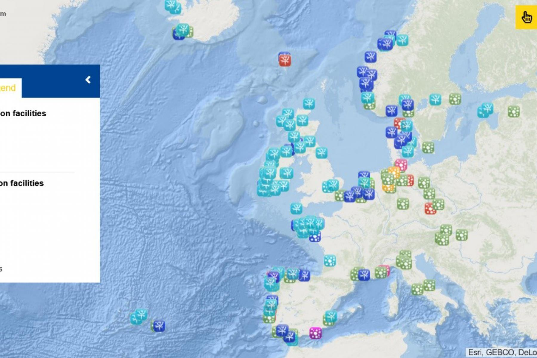 Map of the Week – Algae Production Facilities