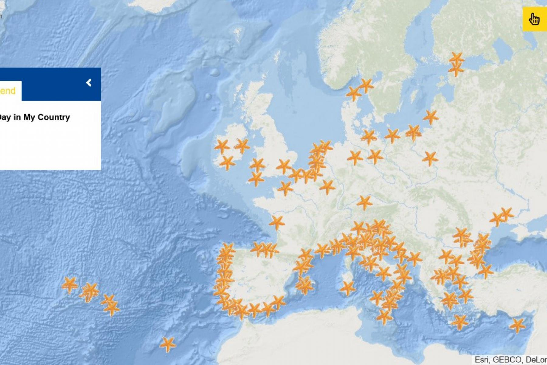Map of the Week – European Maritime Day in My Country 2021