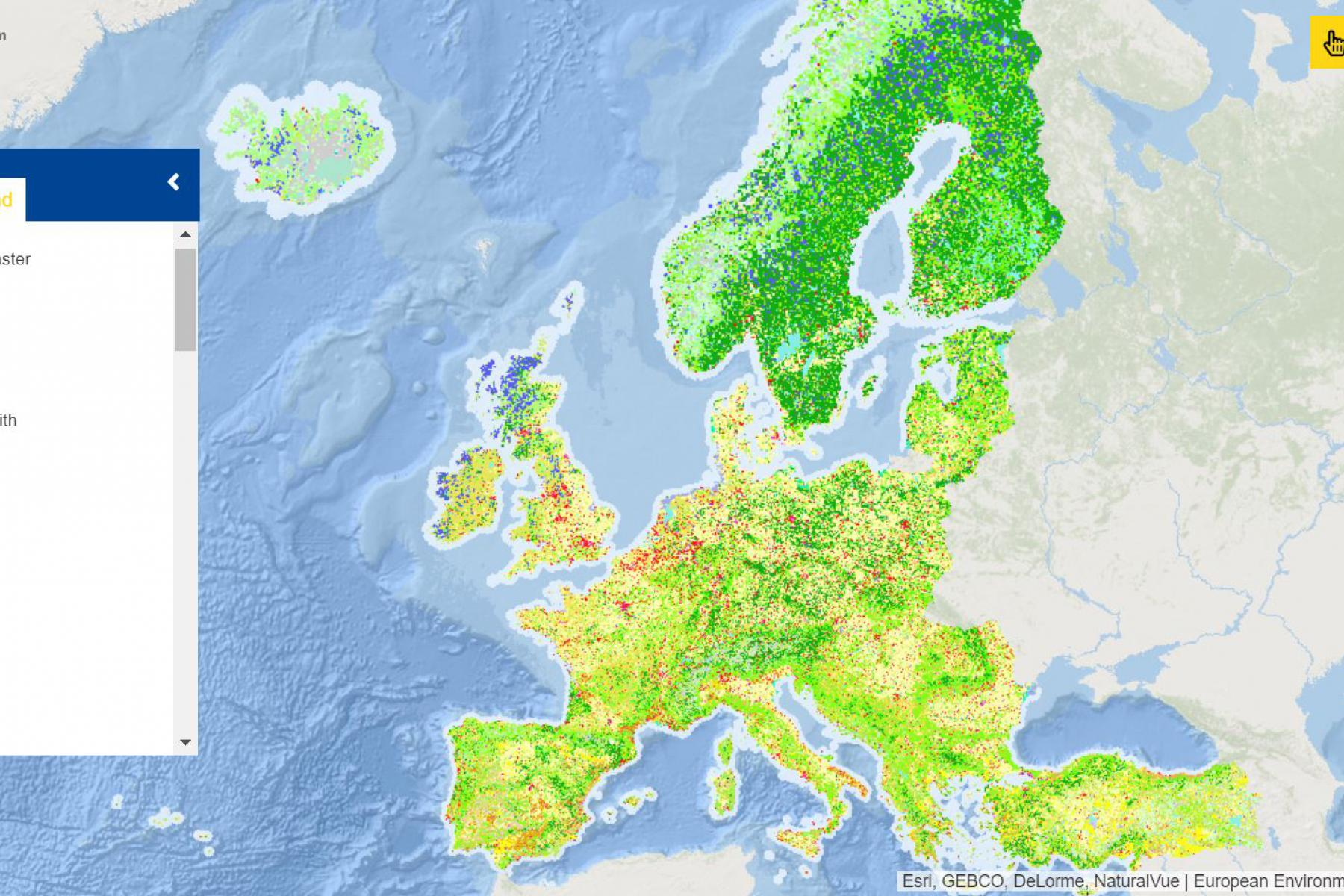 Map of the week – Land Cover