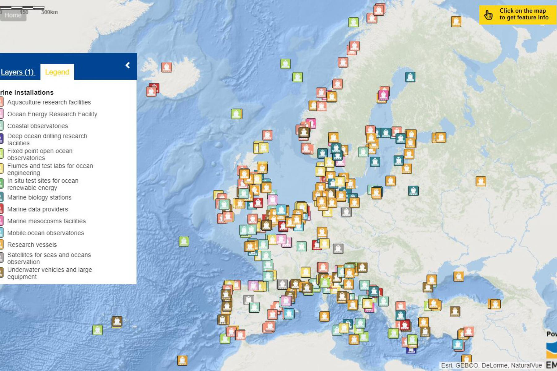 Map of the week – Marine Installations