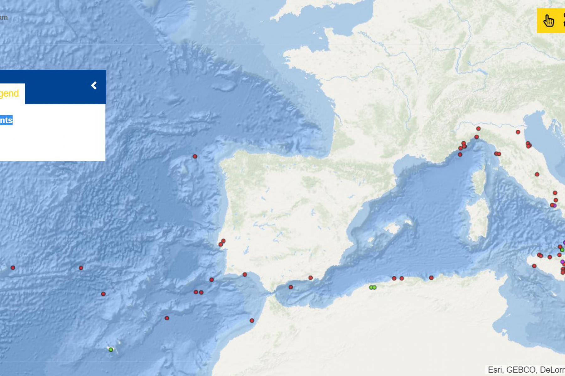 Map of the week – Tsunamis origin points