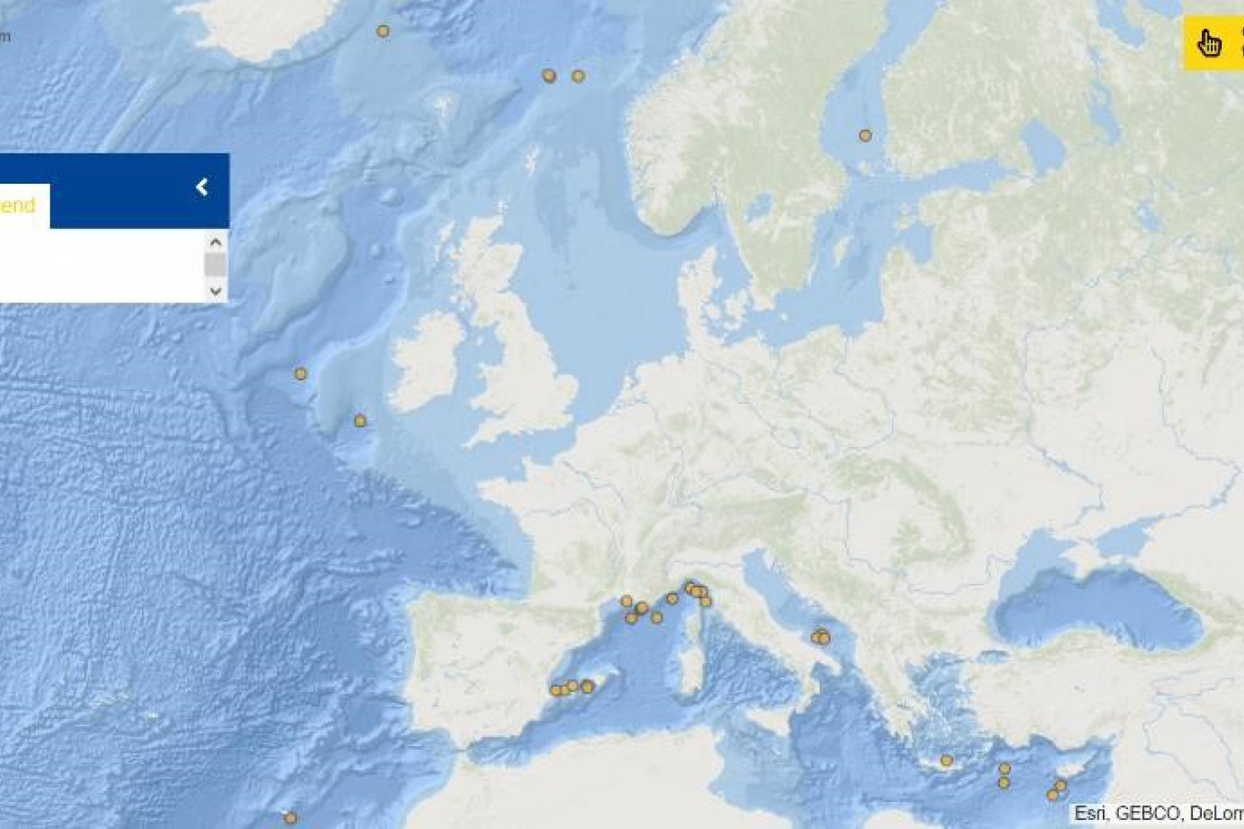 Map of the Week – Underwater gliders