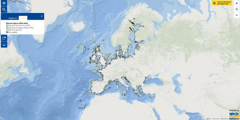 Map of the Week – Marine Natura 2000 sites