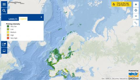 Map of the week – Fishing Intensity