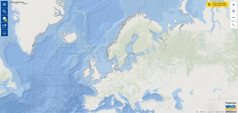 Map of the week – ICES fishing zones