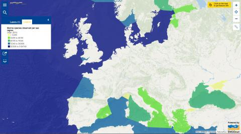 Map of the week – Marine biodiversity