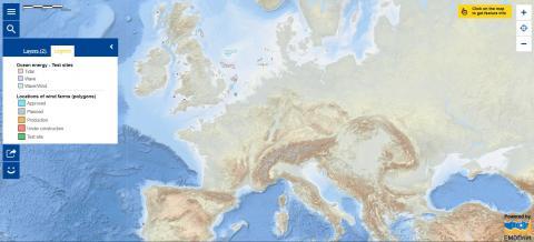 Map of the Week – Offshore renewable energy
