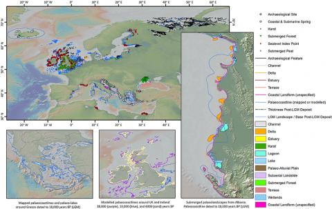EMODnet Geology Submerged Landscapes data product update