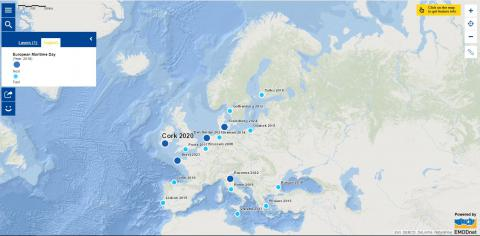 Map of the week – European Maritime Day