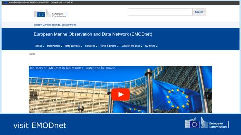 EMODnet under the new Europa domain